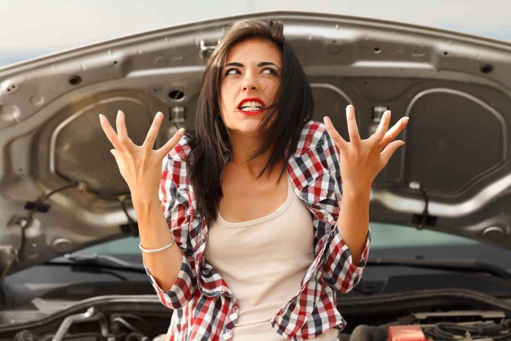 Woman upset about her junk car in Philadelphia